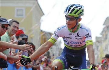 Tour de Francia: Esteban Chaves, el mejor colombiano de la etapa 7