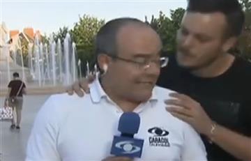 Tour de Francia: Ricardo Orrego y el beso que le robó un francés