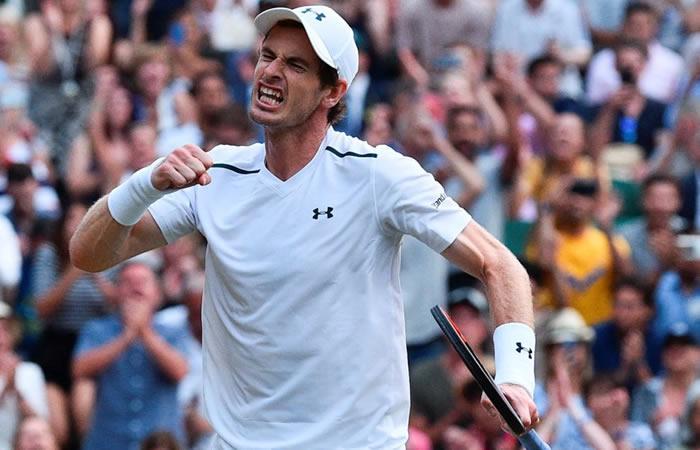 Andy Murray venció a Fognini y avanzó a cuarta ronda de Wimbledon