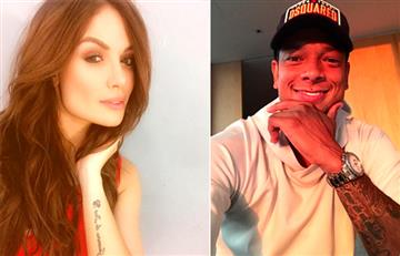 ¿Fredy Guarín volvió a coquetearle a Sara Uribe?