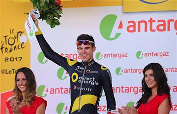 Tour de Francia: Lilian Calmejane gana la octava etapa