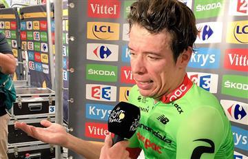 """Tour de Francia: Rigoberto Urán: """"¡Hp alegría!"""""""