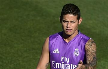 James Rodríguez inicia la pretemporada con el Real Madrid