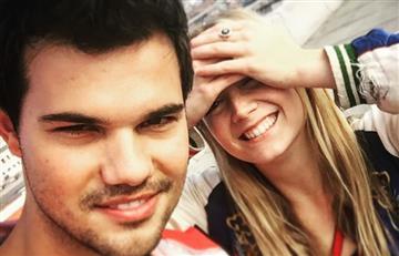 Taylor Lautner regresa a la soltería tras finalizar con Billie Lourd