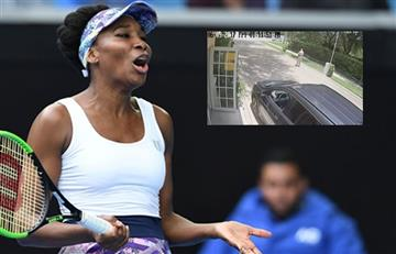 Venus Williams: Video muestra como la tenista atropelló a un hombre