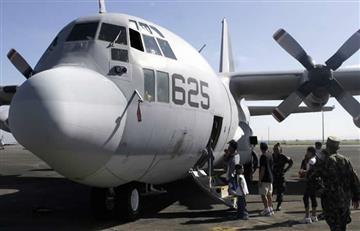 Avión militar estadounidense se accidentó dejando 16 muertos