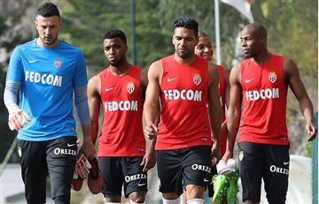 Falcao: Golazo en el entrenamiento del Mónaco