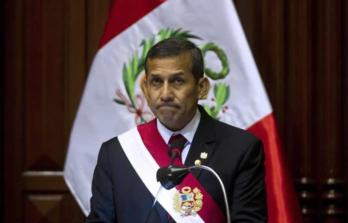 Fiscalía de Perú pide prisión para expresidente Ollanta Humala y su esposa