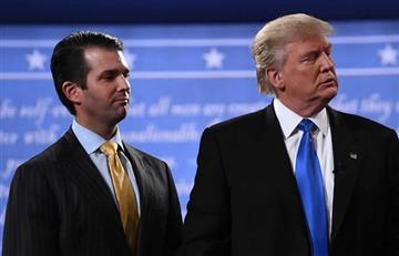 Hijo de Trump reveló correos de su reunión con una abogada rusa
