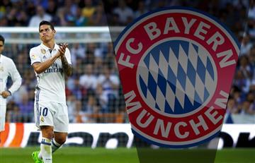 James Rodríguez deja el Real Madrid y llega al Bayern Múnich