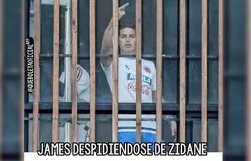James Rodríguez se va del Madrid y las redes se inundaron de memes
