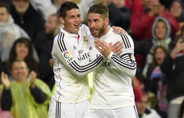 James Rodríguez: Sergio Ramos se despide de él pero le advierte una cosa