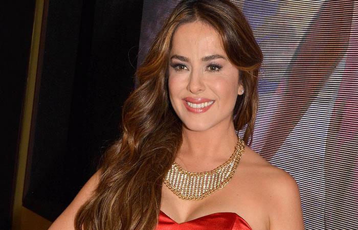 La actriz Danna García le da la bienvenida a su primer hijo