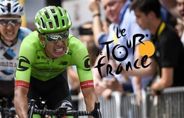 Tour de Francia: Rigoberto Urán el mejor 'escarabajo' en la general