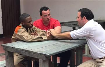 Alexis Viera se reencontró con el hombre que le disparó en un robo