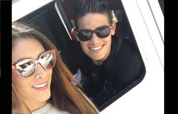 James Rodríguez: Daniela Ospina apoya con mensaje a su esposo