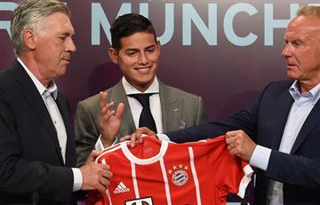 "James Rodríguez: ""Estoy feliz de llegar al Bayern Múnich"""