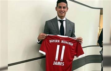 James Rodríguez: Presentación con el Bayern Múnich EN VIVO