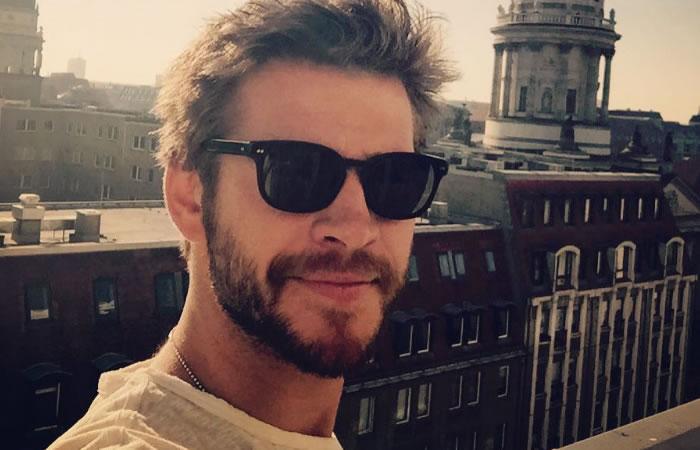 Liam Hemsworth actor australiano. Foto:Instagram.