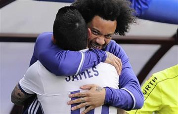 "Marcelo triste por la salida de James: ""Te echo de menos pana"""