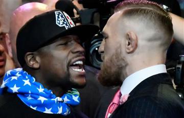 """McGregor advirtió a Mayweather que """"cometió un error"""""""
