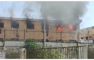 Barranquilla: Incendio en un pabellón de la cárcel La Modelo