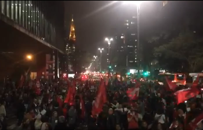 Brasil: Fuertes protestas contra la condena del expresidente Lula da Silva