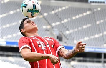 James Rodríguez: Esto vale su camiseta del Bayern Múnich