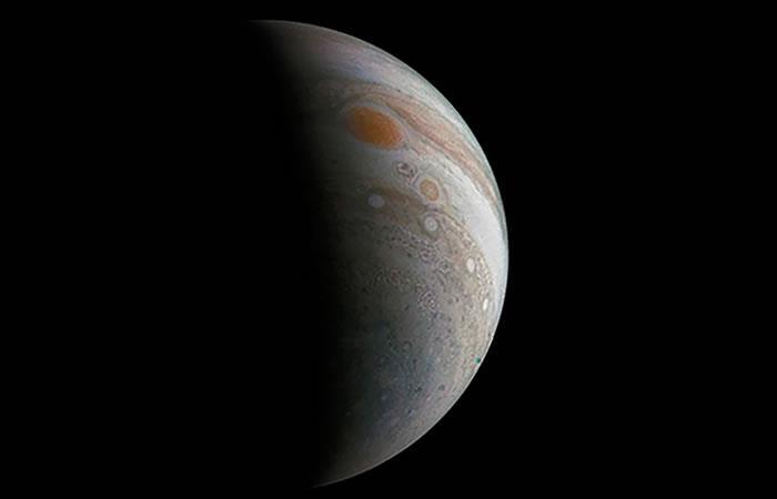 NASA: Fotos exclusivas de la Gran Mancha Roja de Júpiter