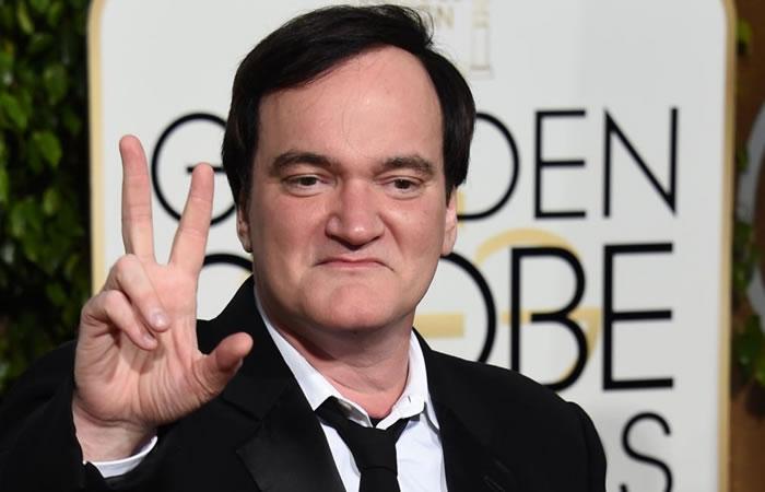 Quentin Tarantino escribe el guión para la película de Charles Manson. Foto: AFP