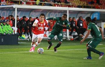 Santa Fe empató con Equidad en octavos de final de la Copa Colombia