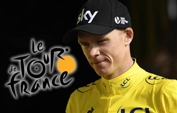 Tour de Francia y la curva que puso en riesgo el liderato de Froome