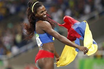 Caterine Ibargüen alegra a Colombia con esta victoria en Madrid