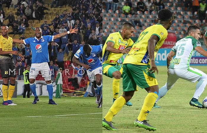 Millonarios y Nacional tomaron ventaja en los octavos de final de la Copa
