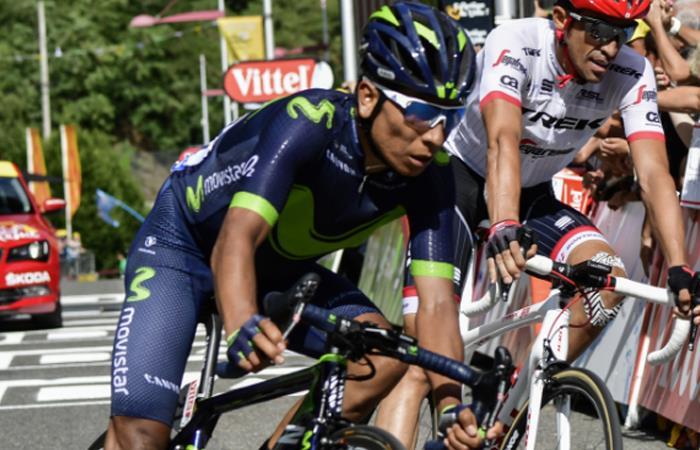 Nairo Quintana: 'Aquí estamos presentes, siempre dejando huella'