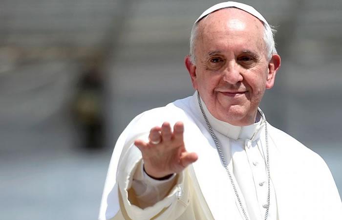 Finalistas para la canción de la llegada del Papa Francisco a Colombia. Foto: AFP