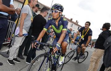 """Tour de Francia: """"Lo que hace Nairo pocos lo hacen"""" asegura Anacona"""