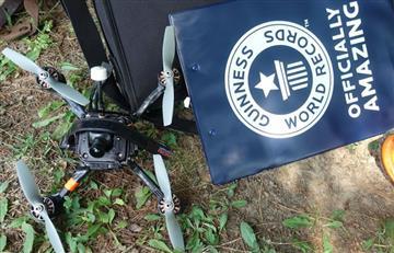 Conozca el drone que gana Guinness Records por su velocidad