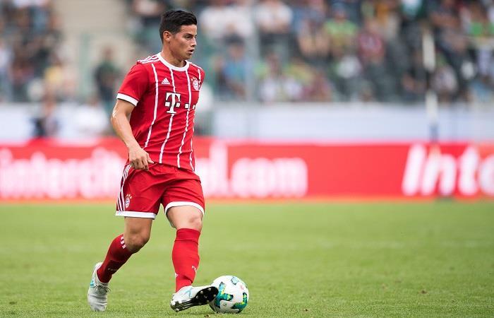 James Rodríguez: La gran jugada que coreó el público del Bayern Múnich