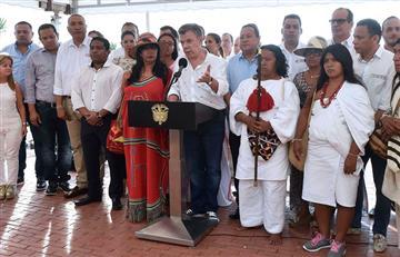 Santos anunció recursos en salud y alimentación para la Guajira