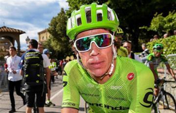 Tour de Francia: Rigoberto Urán en el top 10 de la etapa 14