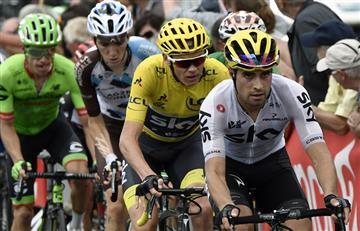 Tour De Francia: Rigoberto Urán en la mira de Dan Martín