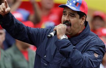 """Maduro a opositores: """"No se vuelvan locos"""" tras plebiscito"""