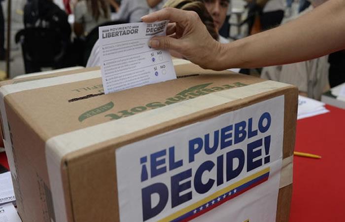 Plebiscito Venezuela: Se espera que 11 millones de venezolanos asistan a las urnas