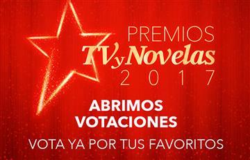 Premios Tv y Novelas 2017: Aquí puedes votar por tus favoritos