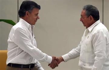 Santos y Raúl Castro tratarán la crisis de Venezuela