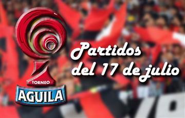 Torneo Águila: Partidos que se jugarán este 17 de julio