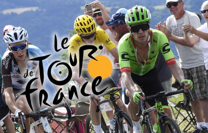 Tour de Francia.Foto:AFP