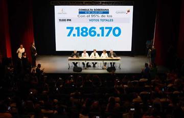 """Audio: ¿Cifras de plebiscito opositor fueron """"maquilladas""""?"""