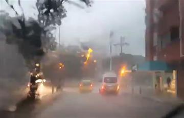 Bucaramanga: Un niño desaparecido tras fuertes lluvias en la ciudad